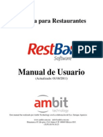 Manual de Rest Bar