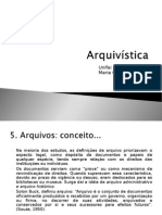 UNIFAI - Arquivistica - 4 Sem Mod 5,6,7,8 e 9 - 2015