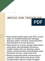 Vi--waduk Dan Tandon Air
