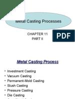 Casting Types Processes