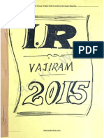 Indian Society GS Paper I ( VajiRam_ Ravi Class Notes -2013)Raz Kr