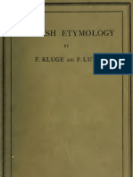 Dictionary pdf etymology