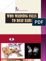 WHO Warning Falls to Deaf Ears
