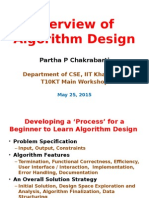 Overview of Algorithm Design