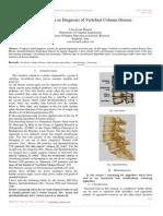 Rule Extraction in Diagnosis of Vertebral Column Disease