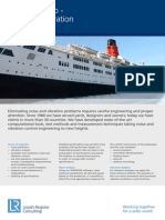 213-35533 Engineering Dynamics - Passenger Ship Noise and Vibration
