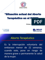 Aborto Terapeutico Peru