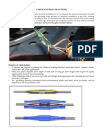 Cable Jointing Practices