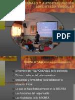 Plan de trabajo y evaluación de las Bibliotecas Escolares