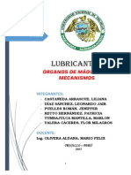 Lubricación Informe Final