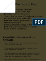 Ch. 1. Prehistoric Past