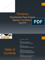 Torrance Real Estate Market Conditions - August 2015
