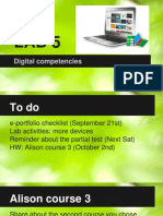 lab 5 digital competencies