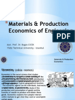MaterialsProduction Economics of Engieering_Dr Cicek_2
