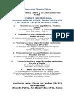 URP Seminario Colonialidad Del Poder Octubre 2015