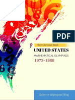 USA Mathematical Olympiad (1972-1986)