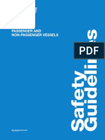 Safety Guidelines Passenger Non Passenger Vessels