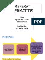 Ppt Referat Dermatitis