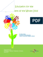 Arts Education for the Development of the Whole Child