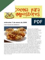 Cocina Para Impostores 2009-01