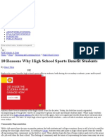 10 Reasons Why High School Sports Benefit Students _ PublicSchoolReview