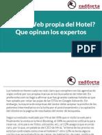 ¿Otas o Web propia del Hotel? Que opinan los expertos