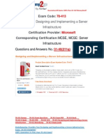 [Braindump2go] 70-413 PDF Dumps Free Download 31-40