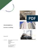 Acoustics in buildings