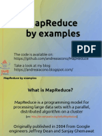 MapReduce By example