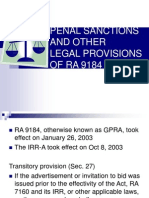 Penal, Civil and Administrative