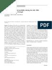 Artigo - Excess Mortality and Morbidity During the July 2006 Heat Wave in Porto, Portugal