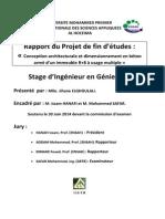 Rapport PFE Genie civil