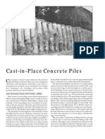 Cast in Place Concrete Piles