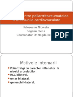 Caz Clinic de Poliartrita Reumatoida
