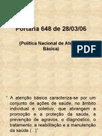 Portaria 648 de 28/03/06