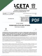 Gaseta Gobierno de estado mexico