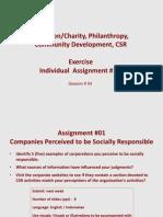 CSR #04 Assignment # 01