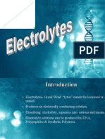 Electrolytic Solutions for Pharmaceutical Companies