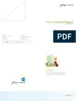 Godrej Gold County Brochure