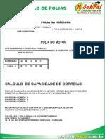 Calculo de Polias