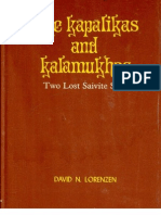 The Kapalikas and Kalamukhas - Two Lost Saivite Sects