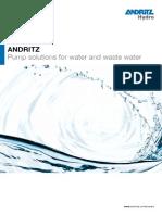 Pumps Water