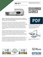 Epson EB S11 Brochures 1