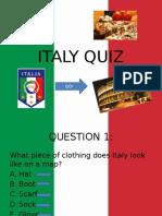 Powerpoint presentation on Italy