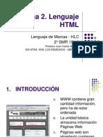 Tema 2 - Lenguajes HTML