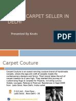 Top 10 carpet seller in Delhi.