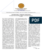 Boletin El Abrazo Nro. 13 del 28.09.2014