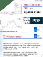 mikrotremor