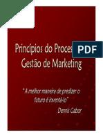 Princípios Do Processo de Gestão de Marketing
