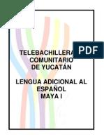 Cuaderno de Actividades - LAE Maya 1